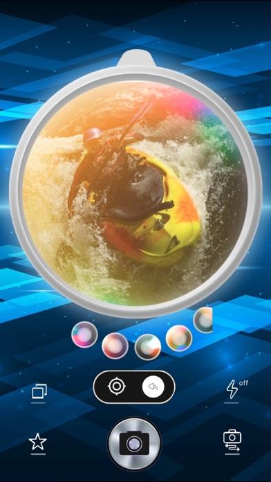 フィッシュアイ魚眼広角カメラPRO screenshot1