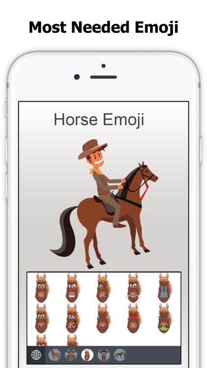 Horse Emoji - Equestrian Sticker screenshot-3