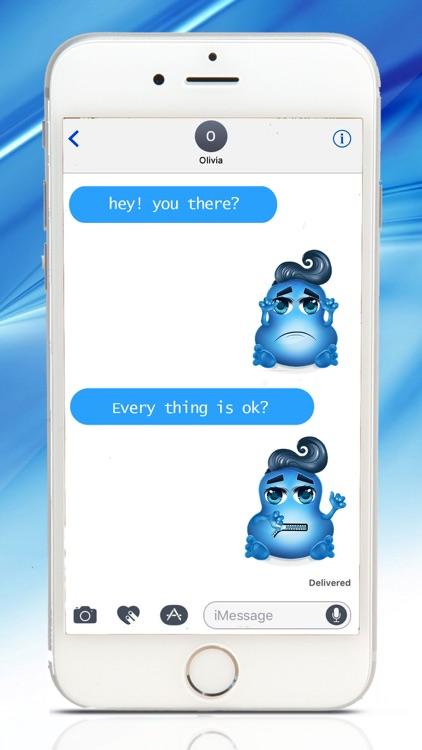 Love Demons Emoji Stickers for iMessage screenshot-4