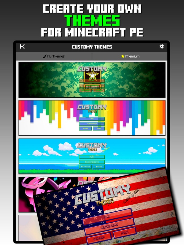 Customy Themes for Minecraft - Online Game Hack and Cheat | Gehack com