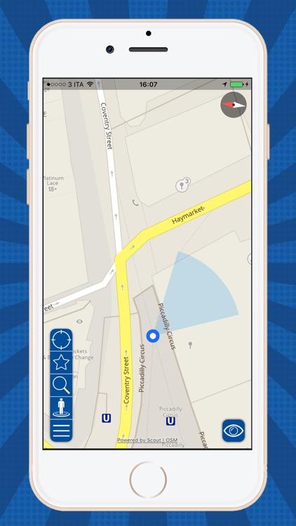 USA Offline map GPS navi screenshot-4