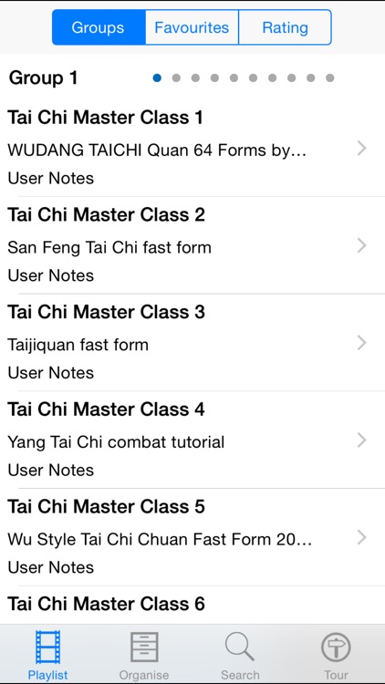 Tai Chi Master Class