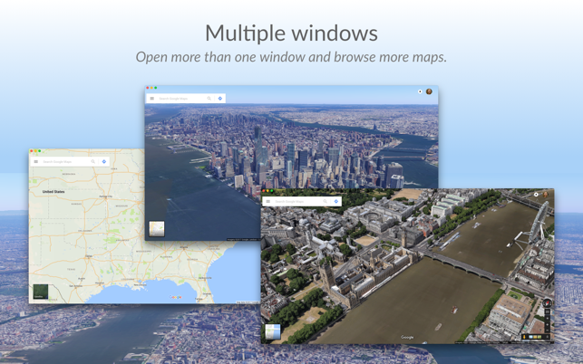 QuickMap for Google Map on the MacAppStore