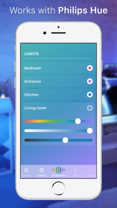 Hue Party for Philips Hue