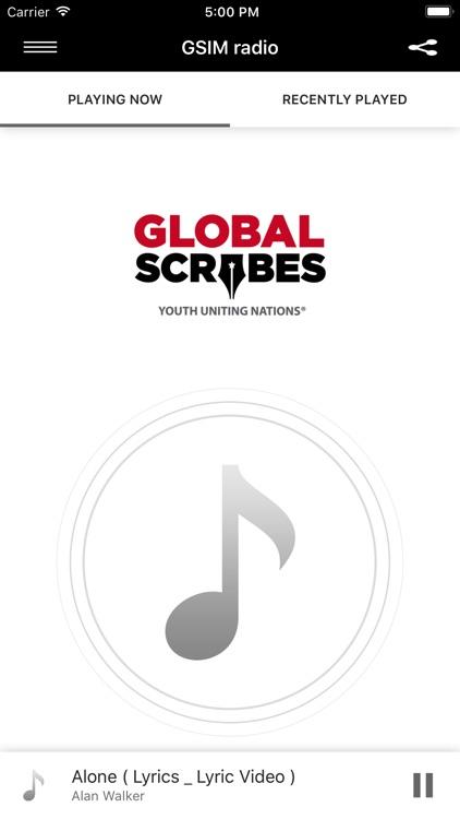 GSIM radio by Global Scribes, Inc