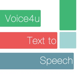 Voice4u TTS: Type / Photo to Speak in 30 Languages