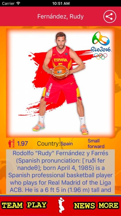 Spanish Basketball Team