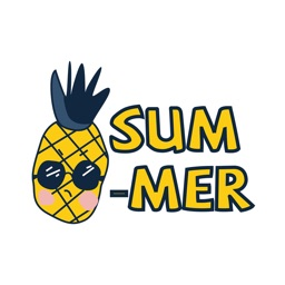 Summer Fruit Stickers
