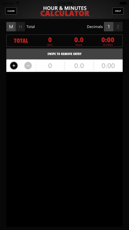 Calculator Hour & Minutes screenshot-0