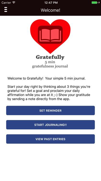 Gratefully: Gratitude Journal & Thankful Messages screenshot-0
