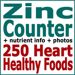 Zinc Counter and Tracker for Healthy Food Diets