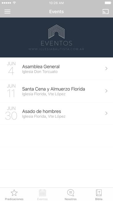 Iglesia Bautista Argentina screenshot 2