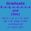 Graduate Sequence and Set Practice