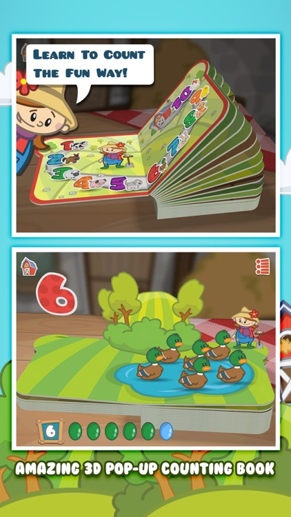 Farm 123 - StoryToys Jr screenshot-0