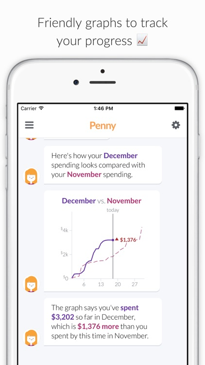 Penny - Track Spending & Bills screenshot-4