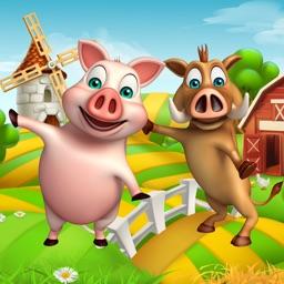 Piggy Run Jungle Adventure