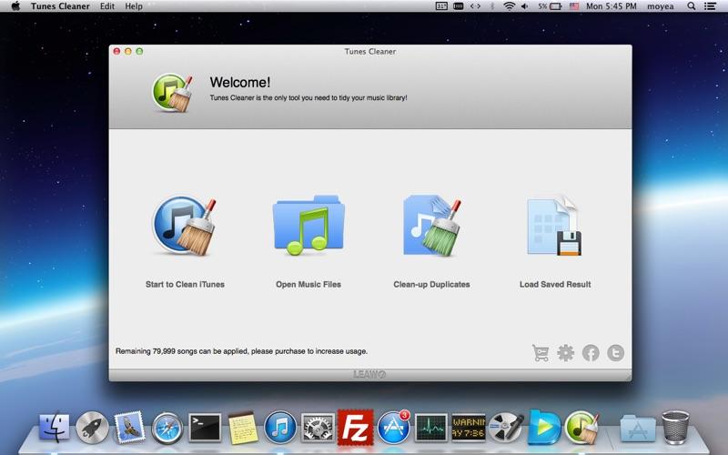 Tunes Cleaner Screenshot