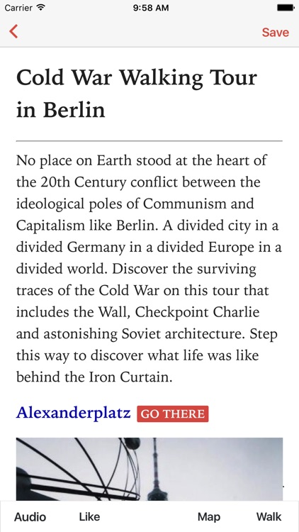 Cold War Walking Tour in Berlin