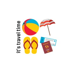 Travel Element Stickers - Plan your holiday