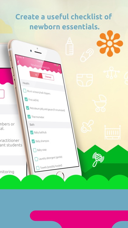 Pregnancy Tracker: Contraction Timer, Kick Counter screenshot-3