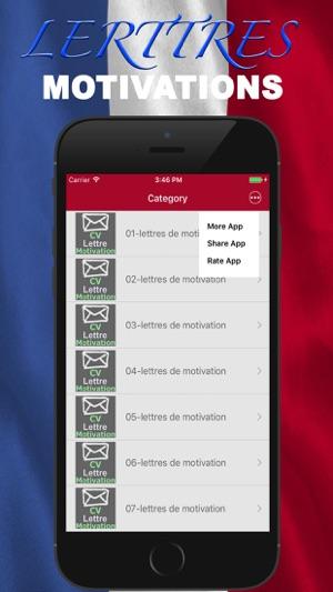 App Store Lettres De Motivations