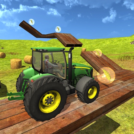Farmer Tractor Game