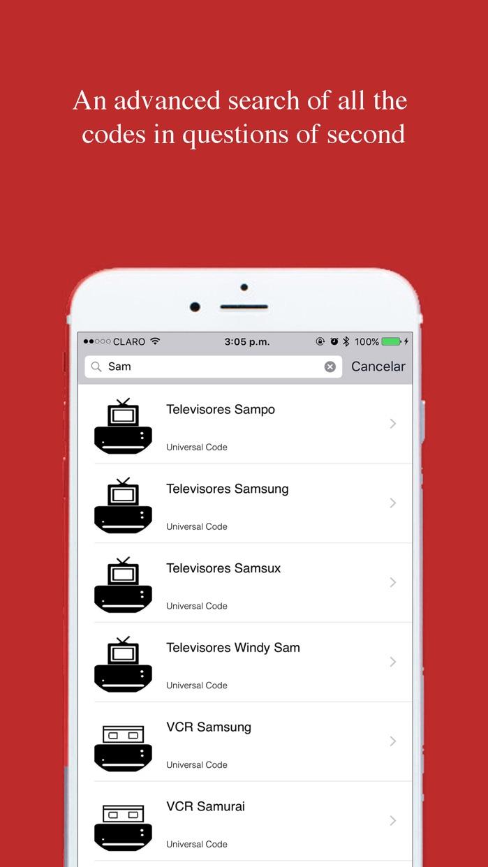 Universal Remote Control Code For Virgin TV Screenshot
