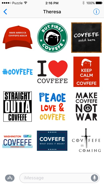 Covfefe - The Original Sticker Pack
