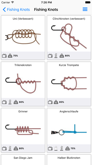 messages.download Fishing Knots software
