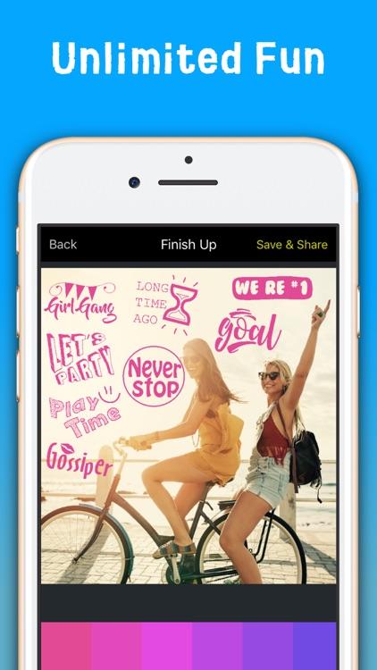 PalPic : Photo sticker screenshot-3