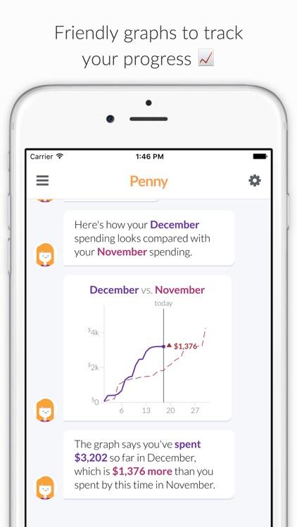 Penny - Track Spending & Bills screenshot-4