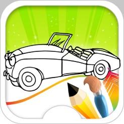 Spor Araba Boyama Kitabı App Storeda