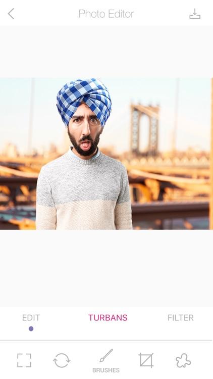 Punjabi Turbans Photo Editor Pro screenshot-3