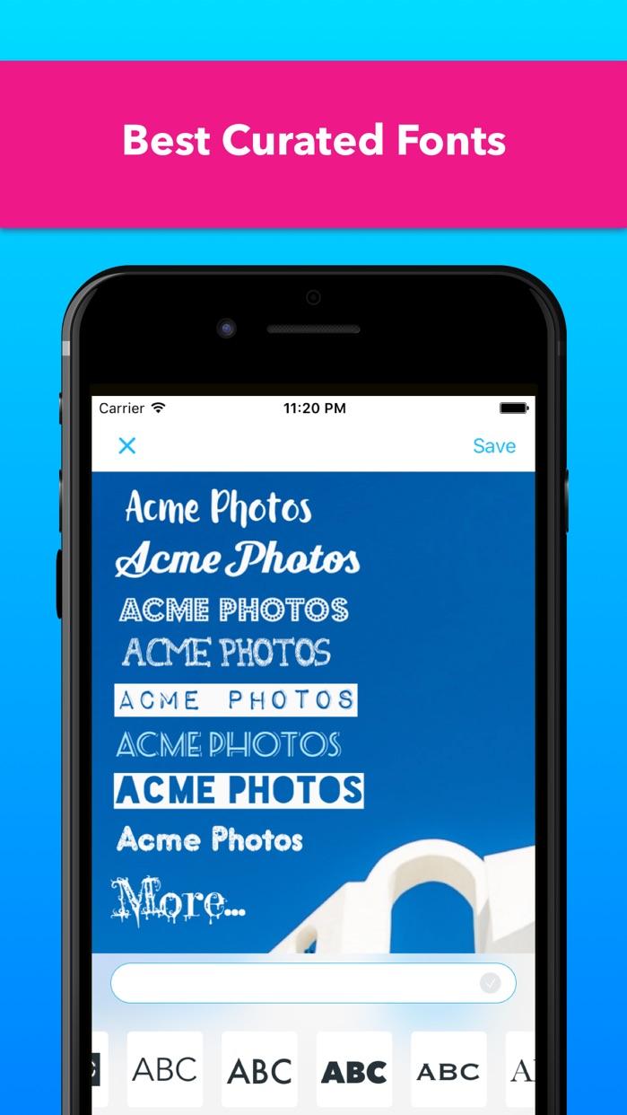 Watermark Photo with Signature Sticker & Copyright Screenshot