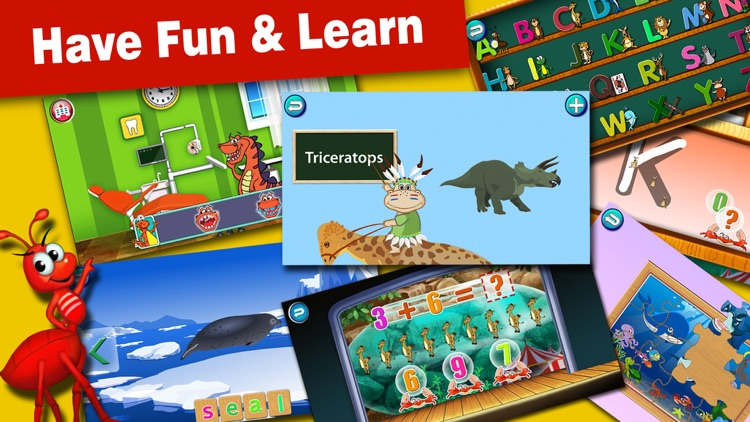 Joy Land- Kids Educational Learning Games abc baby