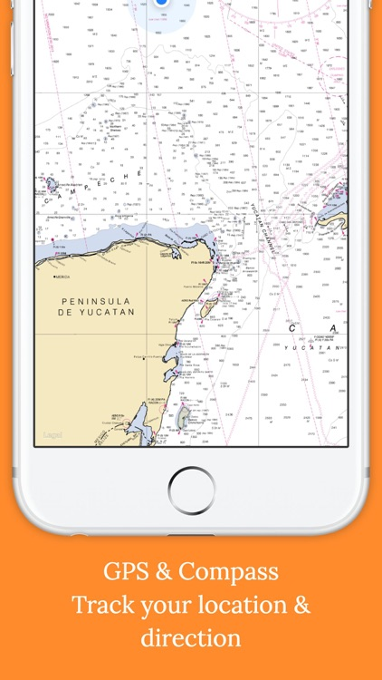 Marine Charts Offline: Gulf of Mexico - East screenshot-3