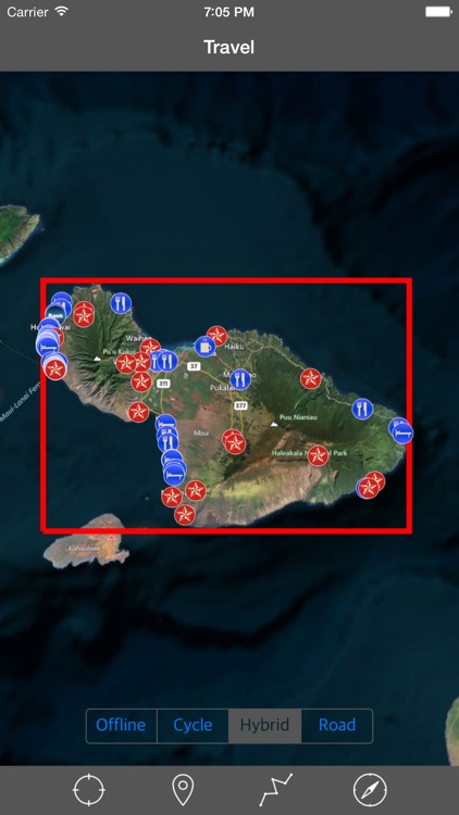 MAUI – GPS Travel Map Offline Navigator screenshot-0