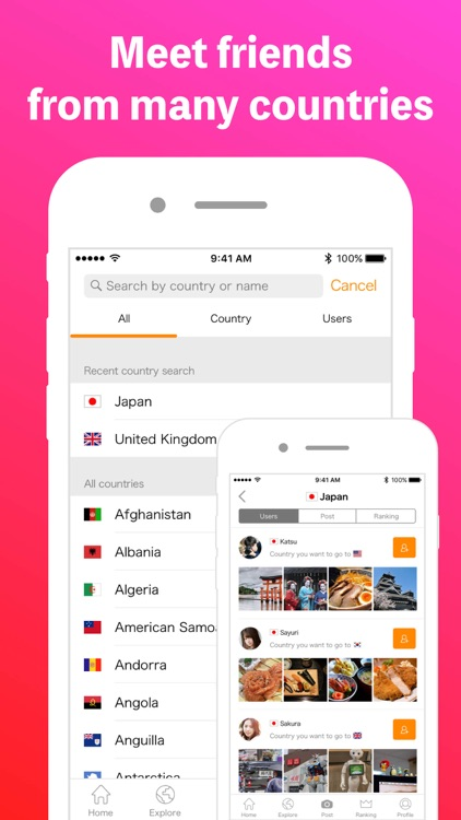 Airtripp - Meet & Chat with global friends