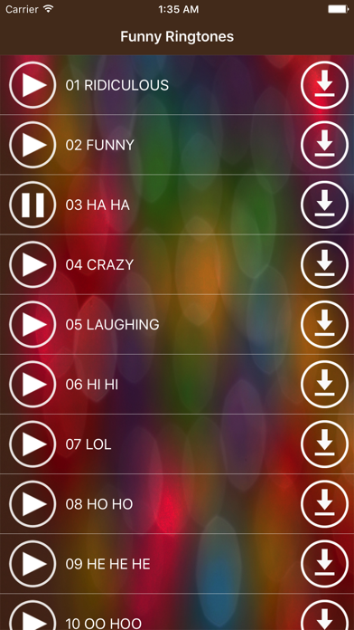 Funny Ringtones - Best Ridiculous Laughing Sounds screenshot two