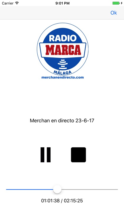 Málaga FM - Radio Marca (HD) screenshot-2