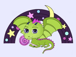 Invite the dragon babies to your messages