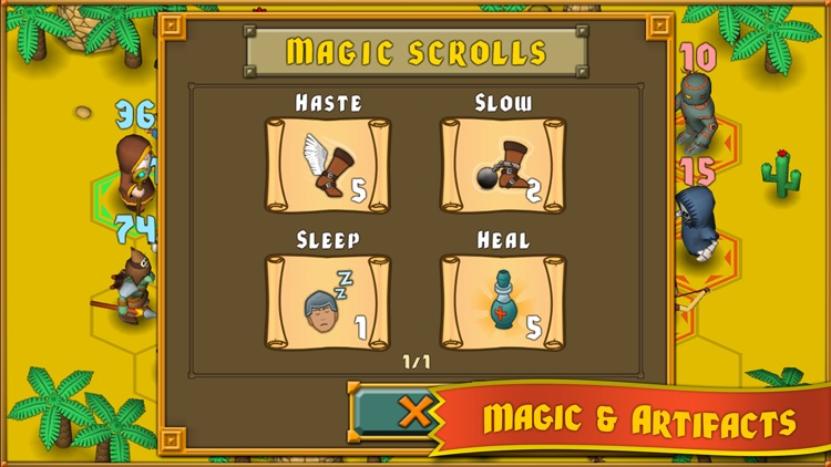 Heroes : A Grail Quest screenshot-4