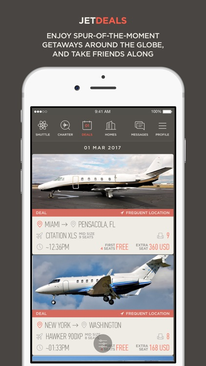 JetSmarter | Fly on Private Jets screenshot-3