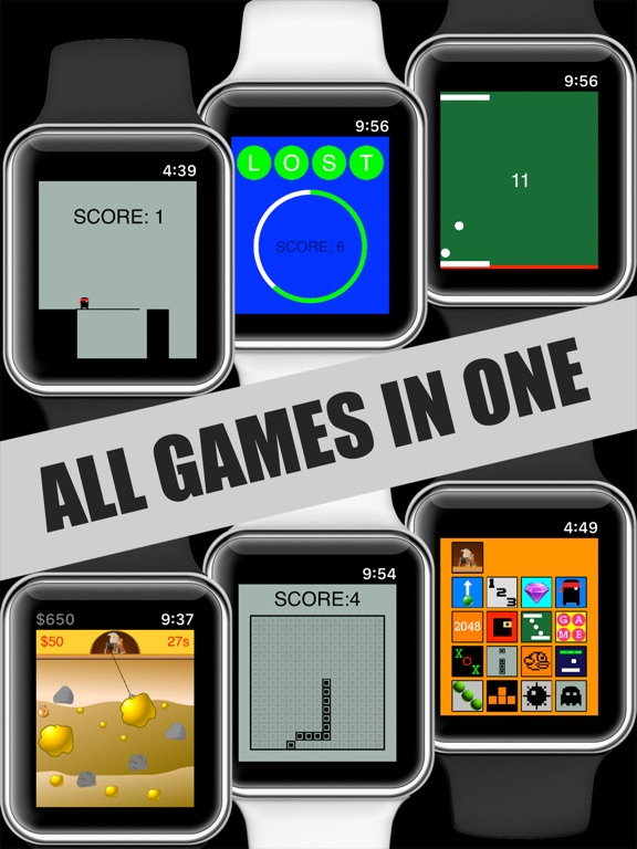 17 Mini Games For Watch & Phone screenshot 6