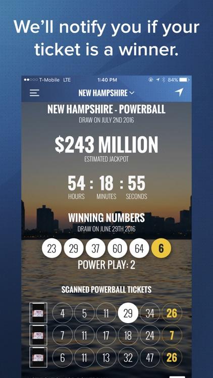 AutoLotto: Powerball, MegaMillions Lottery Tickets screenshot-3