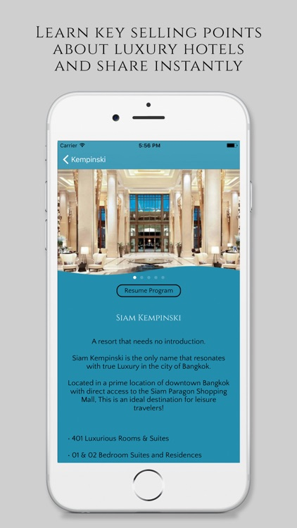 Lx Me: Assisting Luxury Travel Agents screenshot-3