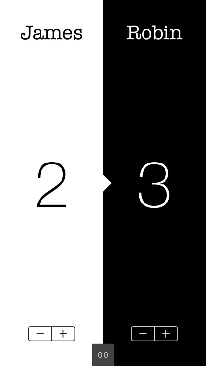 What's The Score - A Score Keeping App
