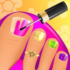 Summer Nail Spa Makeover Games 4