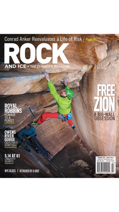 Rock and Ice Magazine app image