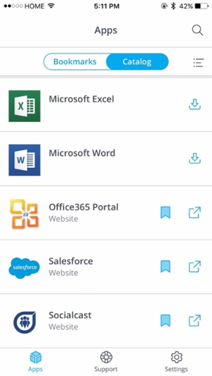 VMware Workspace ONE on the App Store